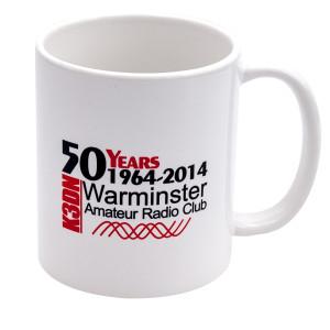 WARC 50Yr Anniversary Mug